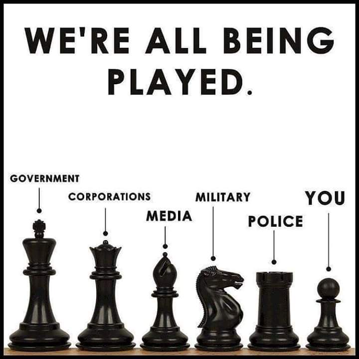 We're All Being Played Like Pawns In Chess