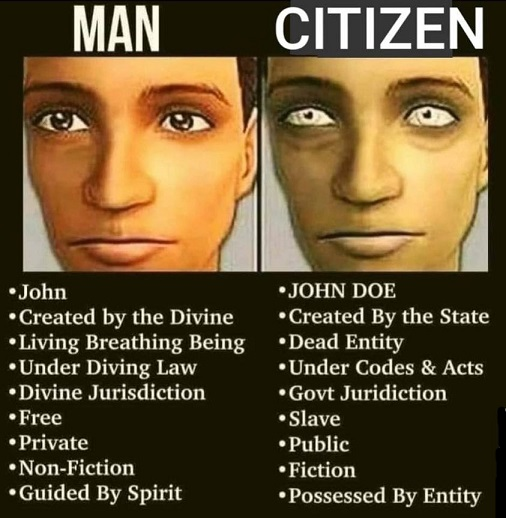 Are You Man or Citizen?