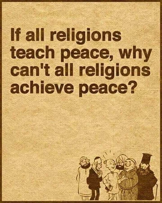 Is Religion Responsible For Peace?