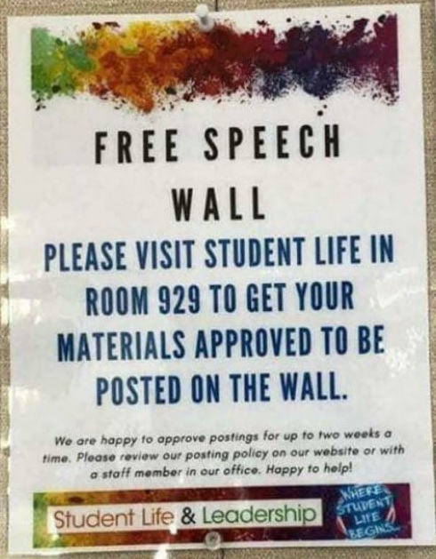 Free Speech Wall
